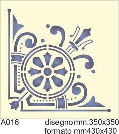 From Rapid Resizer's free picture stencil maker. Stencils, Stencil Decor, Stencil Art, Stencil Patterns, Stencil Designs, Greek Icons, Regal Design, Shell Ornaments, Mandala Tattoo Design