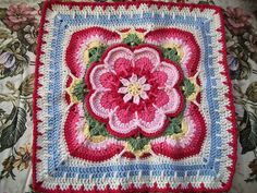Ravelry: Project Gallery for Rose of Avalon pattern by Helen Shrimpton