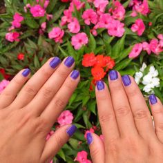 Stopping to smell the flowers with #ZoyaSerenity!  #notd #love #nails #everydayzoya
