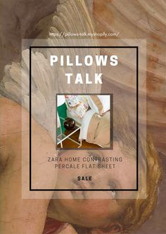 Get the whole set! The comfy pillows and golden cases can't go without the 200-thread-count percale cotton fleet sheet. Together, this iconic bedding set will spoil you!