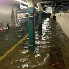Ney York subway hurricane Sandy