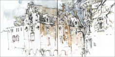 USK:MTL Griffintown Sketchcrawl