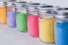azúcar de colores