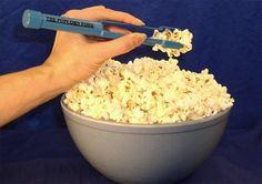 product, kitchen gadgets, eat popcorn, forks, salt shakers