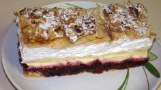 Kremeš Holandia, recept, Zákusky | Tortyodmamy.sk Slovak Recipes, Hungarian Recipes, Cake Recipes, Dessert Recipes, Oreo Cupcakes, Something Sweet, Yummy Cakes, Cheesecake, Sweet Treats
