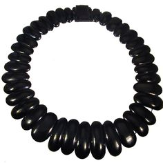 Antique Whitby Jet Collar