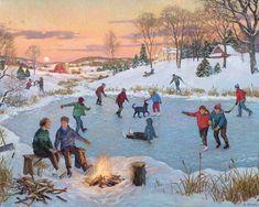 Praatplaat schaatsen, kleuters (1200×959)