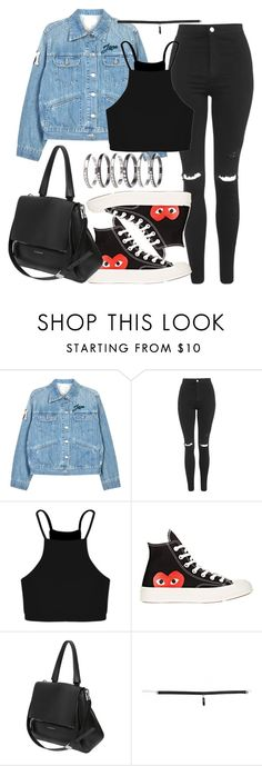 Untitled #102 by voiceforfashion on Polyvore featuring Boohoo, Étoile Isabel Marant, Topshop, Comme des Garçons, Givenchy and M.N.G