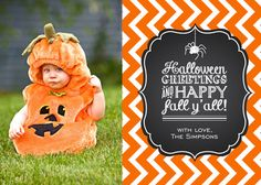 Halloween Cards, Fall Y'all Design