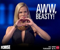 A compliment goes so much farther when it's coming from The Beast, Mark Labbett! SHARE if you <3 The Chase USA.