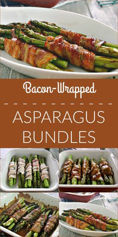 Bacon-Wrapped Asparagus Bundles   Life, Love, and Good Food
