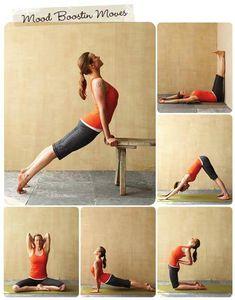 Mood boosting #yoga poses