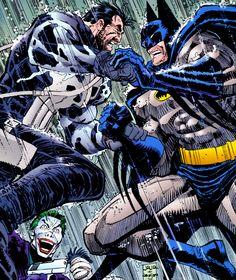 Batman vs Punisher - John Romita Jr. (Pencils) Klaus Janson (Inks) Christie Scheele (Colors)