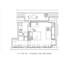 1 zimmer wohnung einrichten der grundriss des apartments studentenzimmer pinterest. Black Bedroom Furniture Sets. Home Design Ideas