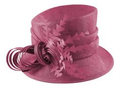 Hawkins Collection Nested Loops Wedding Hat in Pink af7158766068
