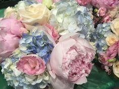 Fresh garden blooms