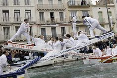 Water Jousting in Sete, France