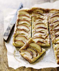 Pannari kookosmaidolla ja omenanviipaleilla. Täydellistä! | Meillä kotona