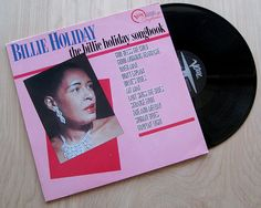 "Billie Holiday ""The Billie Holiday Songbook"" Vinyl Record LP. Jazz Legend Verve Records"