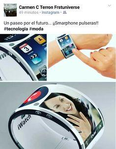 Smarphone pulseras #tecnologia #moda