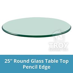 TroySys Round Glass Table Top, Inch Thick, Flat Polish Edge, Tempered Glass with Center Pole Hole, L Living Room Furniture Sale, Iron Patio Furniture, Living Room Furniture Arrangement, Furniture Ideas, Round Glass Table Top, Contemporary Dining Room Sets, Luxury Dining Tables, Sectional Sofa With Recliner, Modern Coffee Tables