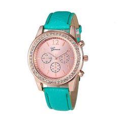 Fashion Women's watches Roman Lady Leather Band Analog Quartz Wrist Watches Relogio Feminino Hot bayan kol saati