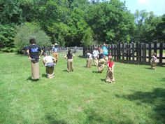 Sack races at past Independence Day Celebrations at The Homeplace Photo by HP staff
