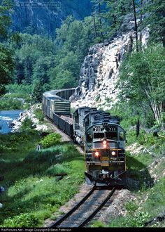 RailPictures.Net Photo: BCR 711 British Columbia Railway MLW M630 at Creekside, British Columbia, Canada by Steve Patterson   ..rh