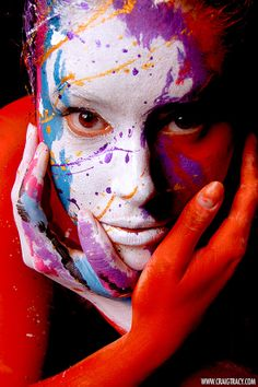 Painted alive, bodypaintings by Craig Tracy - ego-alterego.com