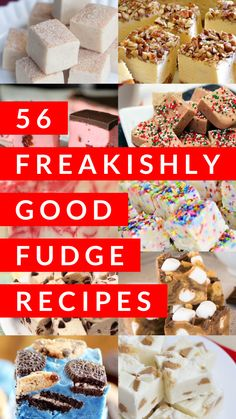 I love how versatile fudge can be. Check out these delicious fudge treats! Article Image From: GoodInTheSimple Peppermint Fudge Tis the season for . Best Fudge Recipe, Fudge Recipes, Candy Recipes, Sweet Recipes, Baking Recipes, Dessert Recipes, Yummy Recipes, Cookie Recipes, Dessert Ideas