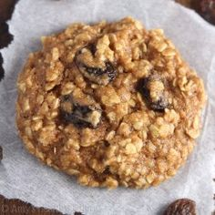 The Ultimate Healthy Soft & Chewy Oatmeal Raisin Cookies {Recipe Video!}