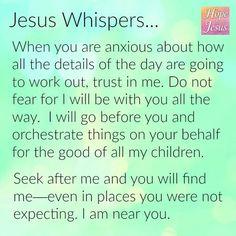 *8857*  Jesus Whispers.....