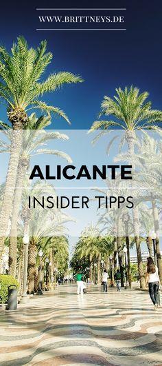 Hier sind die ultimativen Insider Tipps für Alicante. Shoppen, Essen und Sightseeing in Alicante.