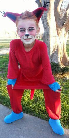 Fox In Socks Costume