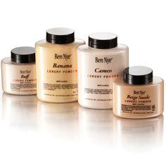 "Ben Nye ""Banana"" Luxury Powder Shaker Bottle, 1.5 oz | Professional Makeup Tools & Equipment for Stage & Theatre | PNTA"