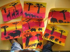 l'Afrique chez Stasia: tribune libre - école petite section