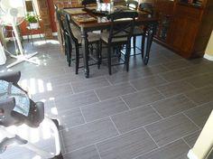 """12"""" x 24"""" Porcelain Tile Flooring (Running Bond Pattern)"""