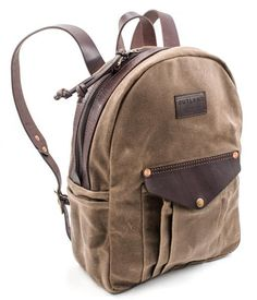LAND Pack // Waxed Canvas Backpack