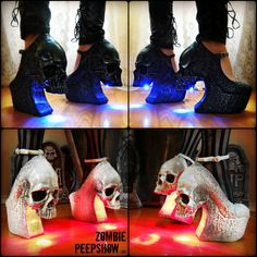 Hey, I found this really awesome Etsy listing at https://www.etsy.com/listing/187294915/skull-purgatory-curved-wedges