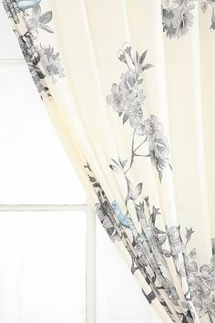 Urban Outfitters curtains for guest room