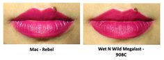 Dupe for MAC Rebel Lipstick | LUUUX