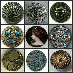 HAPPY BUTTON PORN FRIDAY On SAtURDAY!!!! Vote for your favorite. From Manda Made on FACEBOOK. #buttonlovers