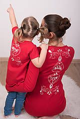 Šaty - Červené šaty - folk - 9068626_ #detskamoda#jedinecnesaty#handmade#originalne#slovakia#slovenskydizajn#móda#šaty#original#fashion#dress#modre#ornamental#stripe#dresses#vyrobenenaslovensku#children#fashion#rucnemalovane#folk Folk, Popular, Forks, Folk Music