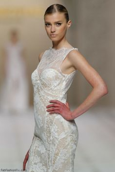 Sigrid Agren for Pronovias 2015 Bridal Collection
