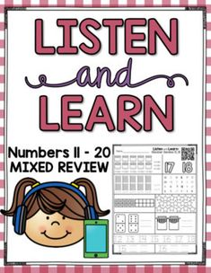 These Listen and Learn Activities are 15-17 minutes each of GUIDED INSTRUCTION by ME! :) Students listen, color, and write based on skills that I teach! Simply copy the printable you want your students to work on and choose one of the following formats: •Scan a QR
