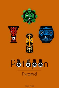 """Patapon. """"White man can now have rhythm."""" said the gods."""