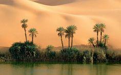 El Ma Lago Ouema, Libia
