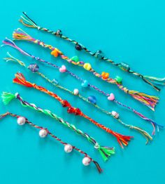 Easy Friendship Bracelets. Great for kids to make for themselves and, of course, their friends! countrywomanmagazine.com