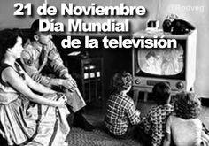 La ONU reconoce el 21 de noviembre como el Día Mundial de la Televisión, en reconocimiento de los avances que este medio trajo al mundo.