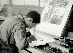 1963-1967 Lithografenlehre Sturm Muttenz